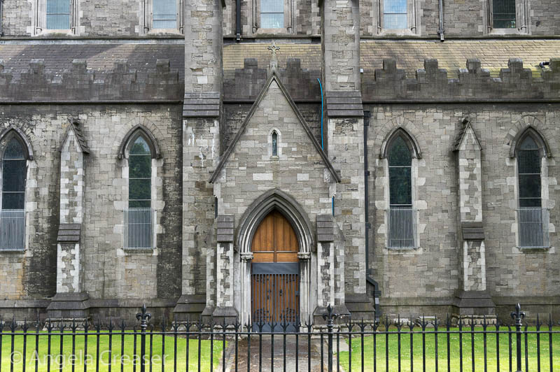Saint Patrick's Cathedral side