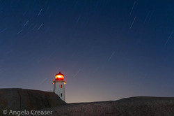 Peggy's Cove Star Trails