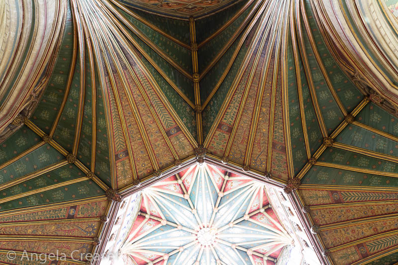 Tower Detail, Ely Cathedral, England