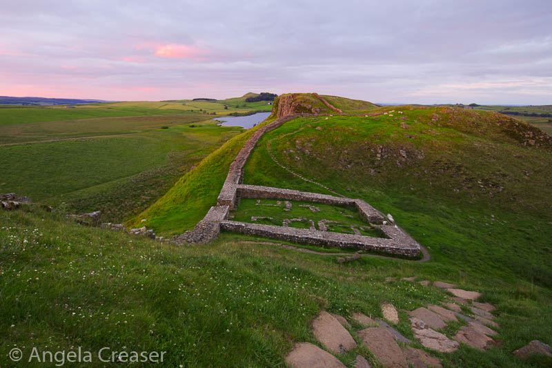 Castle Nick, Hadrian's Wall, England
