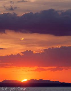 Finvarra Sunset, Ireland