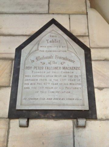 memorial for peter falconer-mackenzie