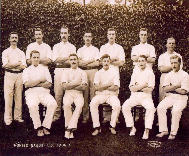 hunter baillie cricket club 1906-7