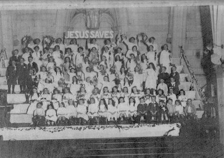 sunday school c.1915