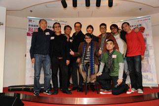 「泰迪羅賓三十年電影作品展」開幕式合照