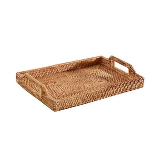 Rattan Serving/Display Tray