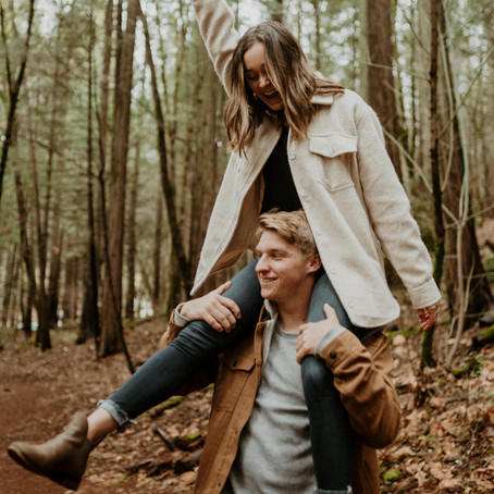 Nevada City Couples Session