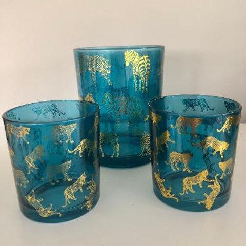 Jungle Tea Light Holders, Two Sizes