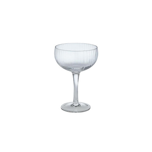 Set of 4 Venezia Champagne Coupe glasses