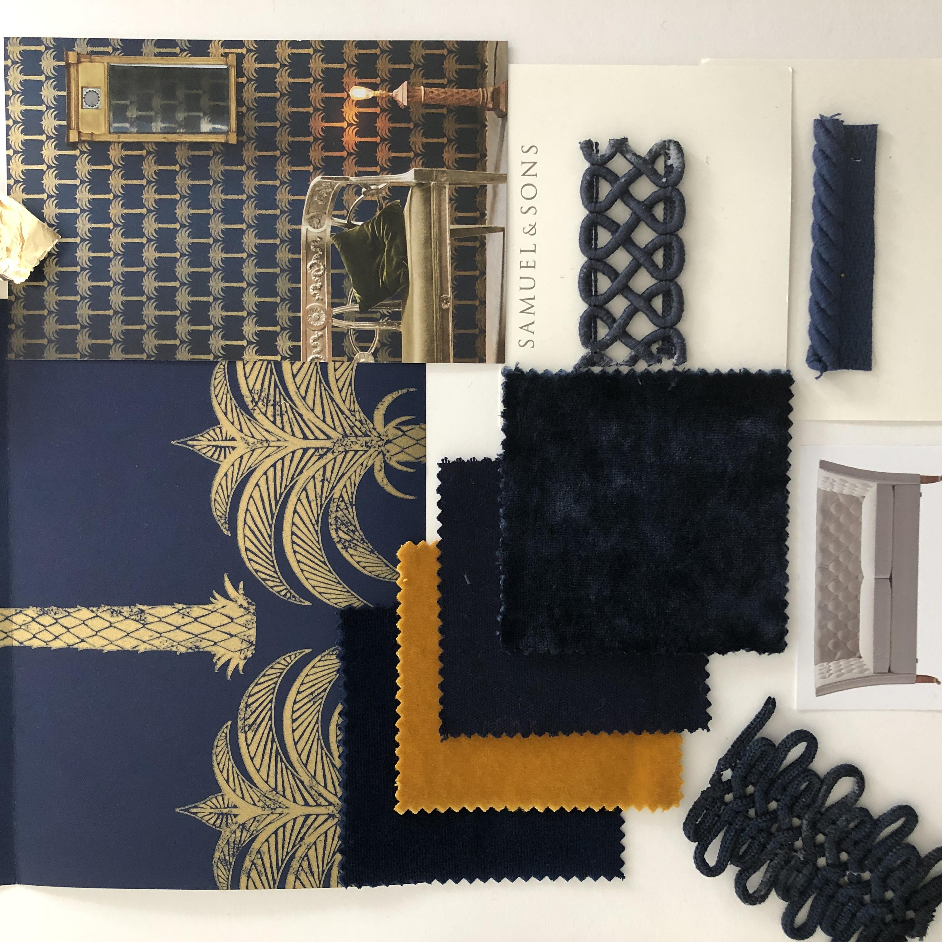 Fabrics, Paints & Papers