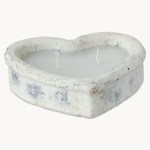 Stone Heart Candle