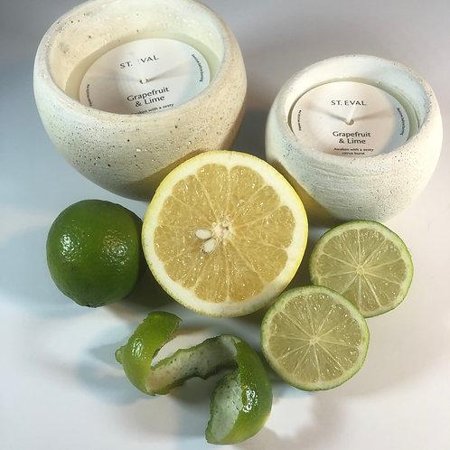 Grapefruit & Lime, Secret Garden Pot - Two Sizes