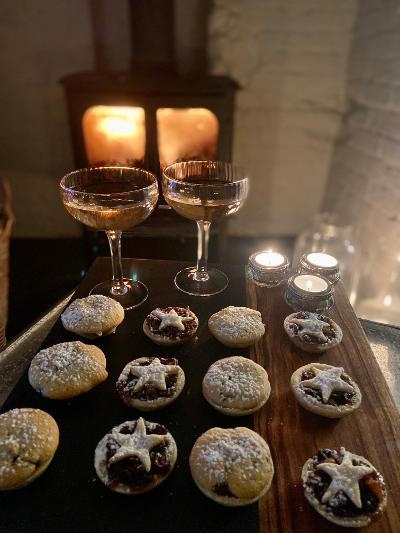 Frangipane Mince Pies with Pear & Sherry Mincemeat