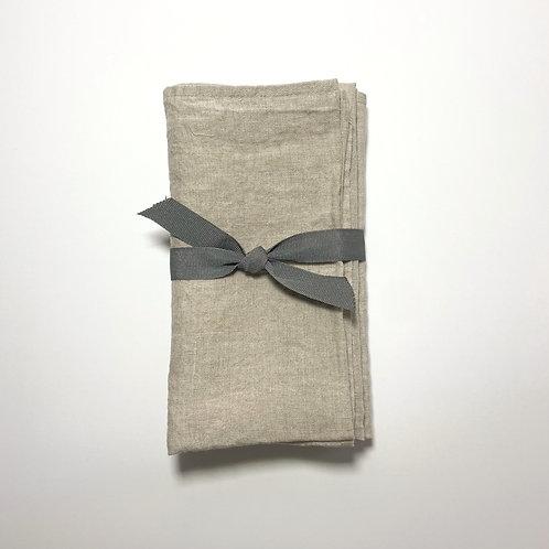 Natural Linen Napkins, Set of 4