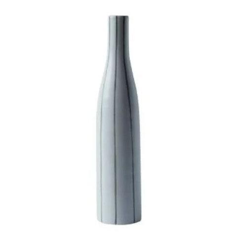 Striped Bottle Vase