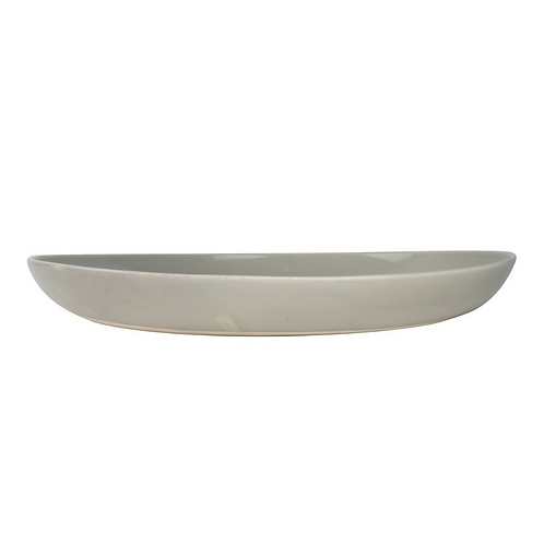 Gull Grey Stoneware Serving Platter
