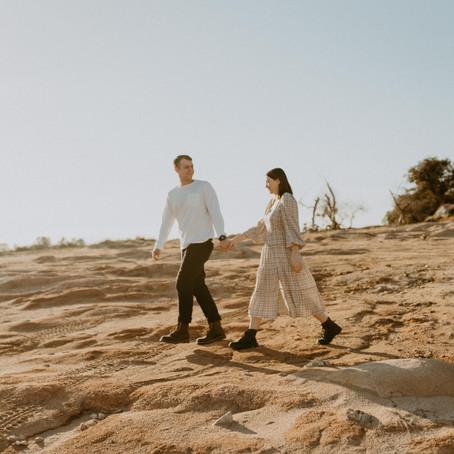 Desert Vibe Couples Session | Abbey Jo Photos