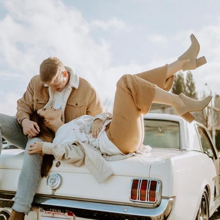 Vintage Car Couples Session