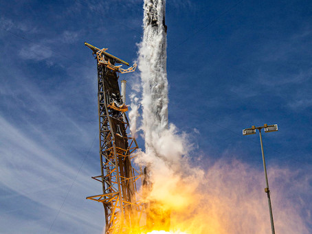 Photos: SpaceX rocket launches, then lands, on Space Force mission