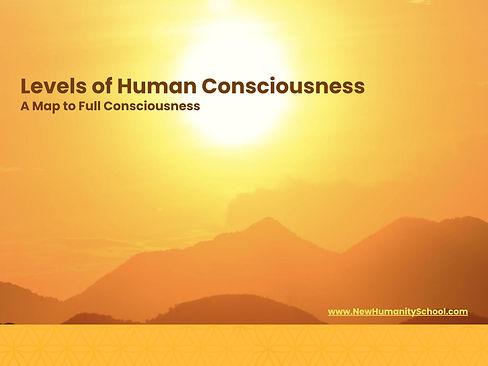 levels of consciousness ebook