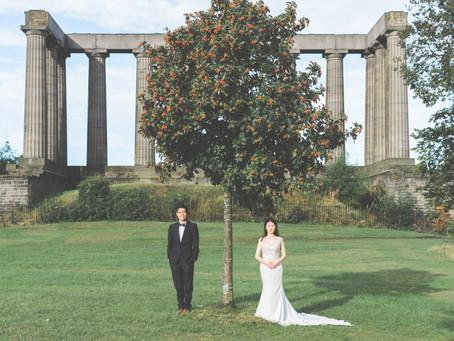 2018 愛丁堡婚紗攝影 快閃限時體驗價!! 蘇格蘭愛丁堡幸福發發發方案 (£888)