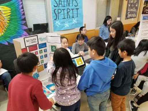 Outreach Team Works With Children on Global Goals