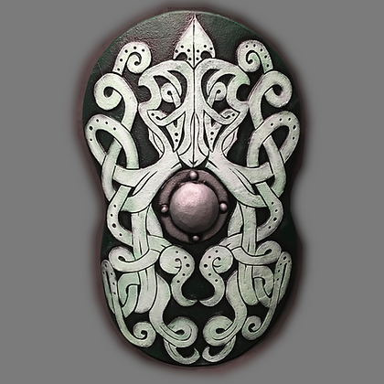 """Cavalry Shield 41"""" by 28"""""""