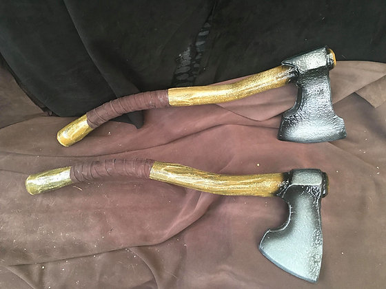 30 inch Curved Hand Axe
