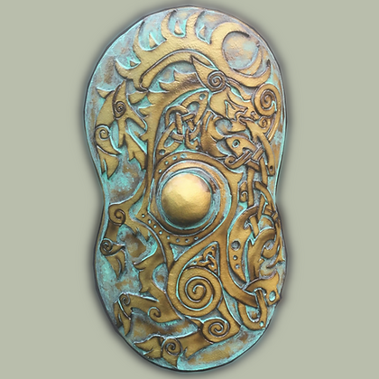 """Celtic Cavalry Shield 41"""" by 28"""""""