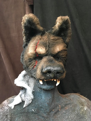 Wolf Mask (with mantle)