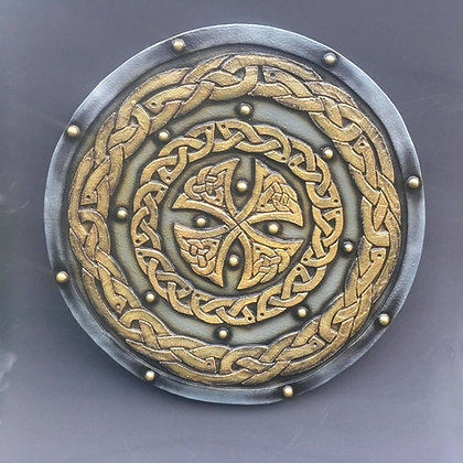 30 inch Celtic Cross & Braid Shield