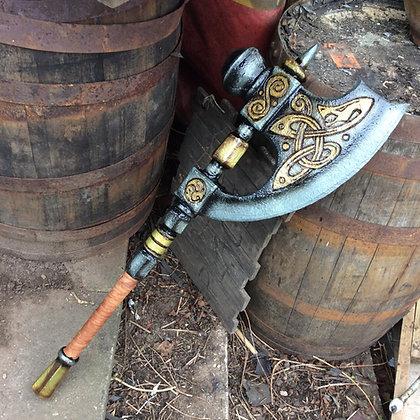 "Ornate hammer glaive 36"" (3)"
