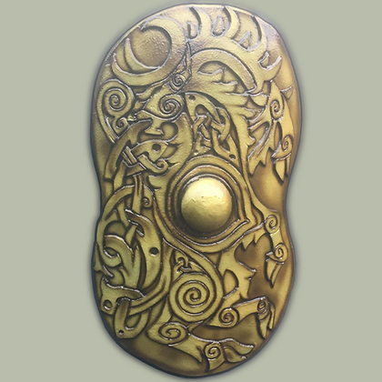 "Celtic Cavalry Shield 41"" by 28"""