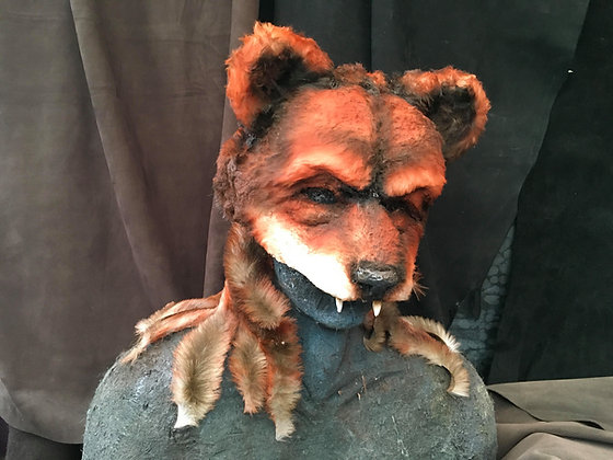 Fox Mask (with mantle)