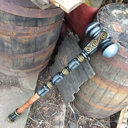 """Double headed war hammer 36"""" (4)"""