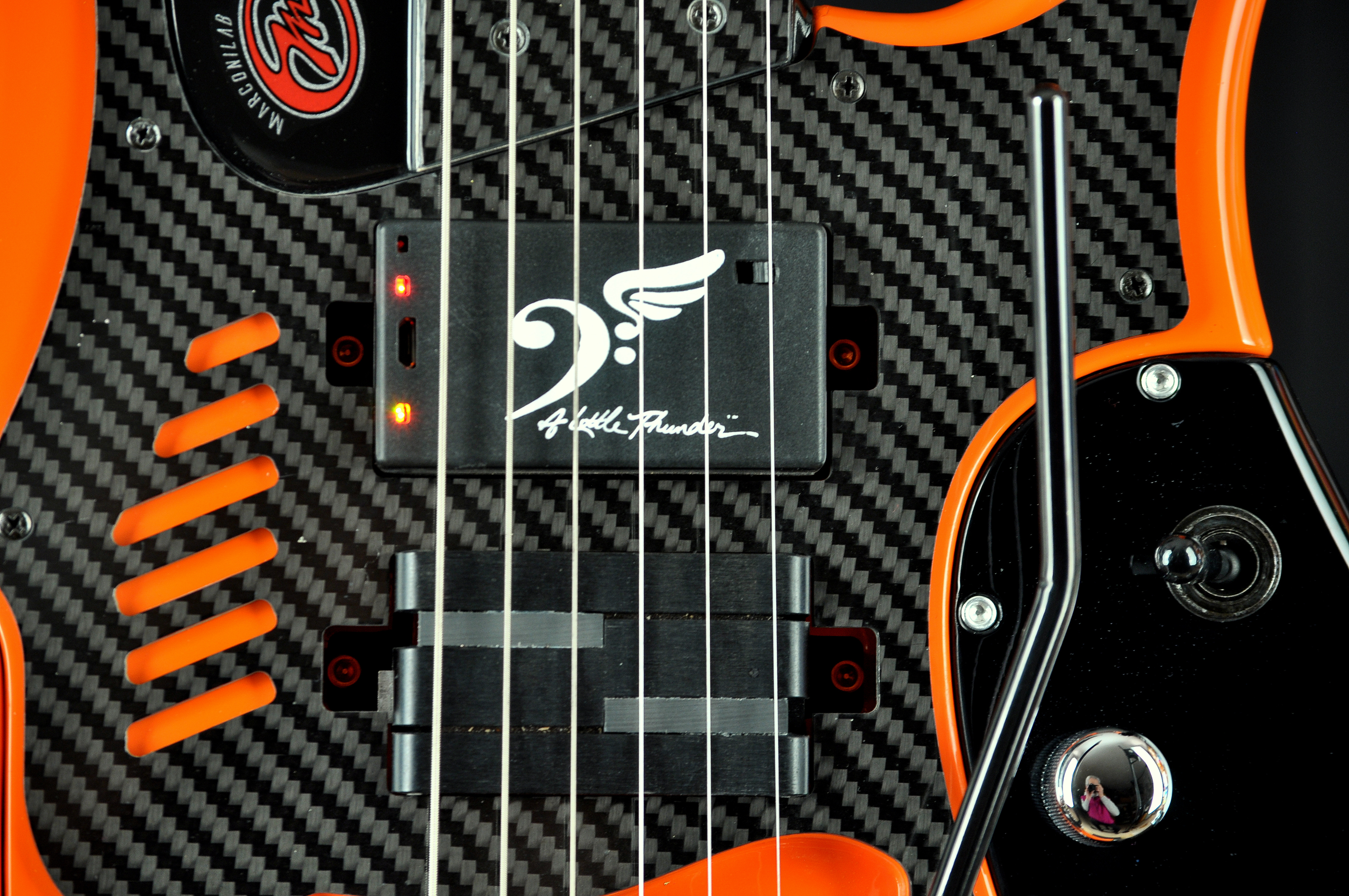 A Little Thunder Guitar Pickups Add Bass Signal To Your Wiring Diagram Two Humbuckers And Piezo