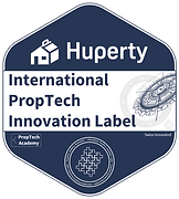 Huperty_International Innovation Label PropTech.png