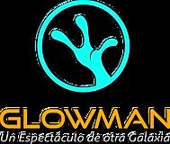 LOGO GLOWMAN FONDO TRANSPARENTE SOMBRA N