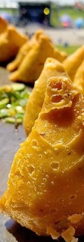 Chaat Spot Indian Events Vegan Samosa