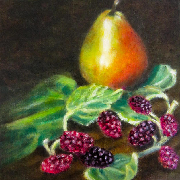 Pear and Mulberries