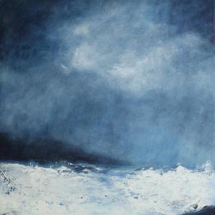 Blue Storm Passing