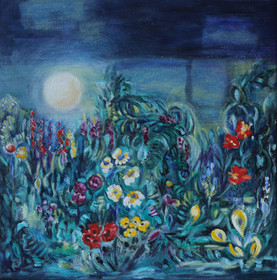 Garden under the Midnight Sun