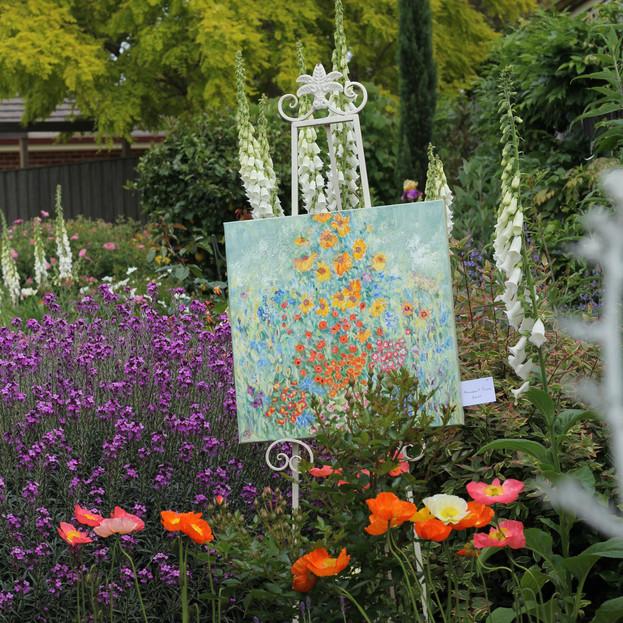 Abundant Flora in garden