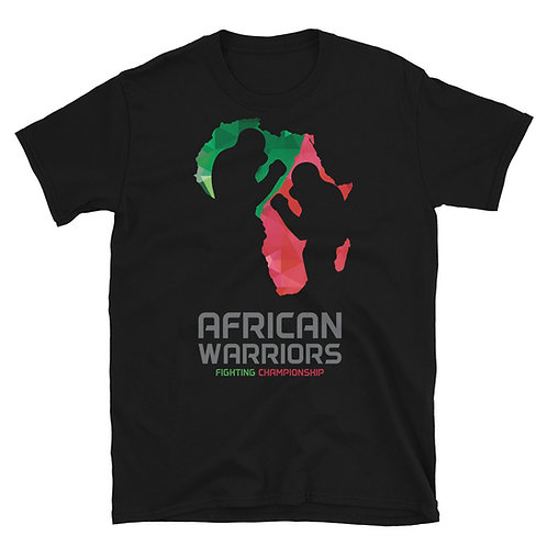 African Warriors FC Logo T-shirt -  Black