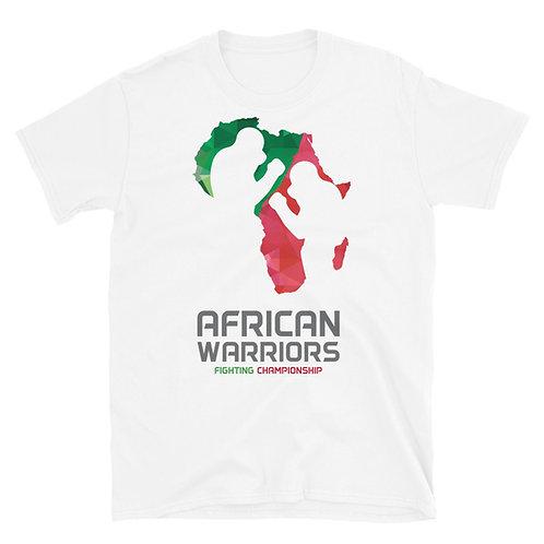 African Warriors FC Logo T-Shirt - White