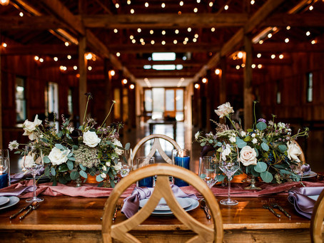 Moody Spring Styled Photoshoot at Cedarmont Farms in Franklin, TN