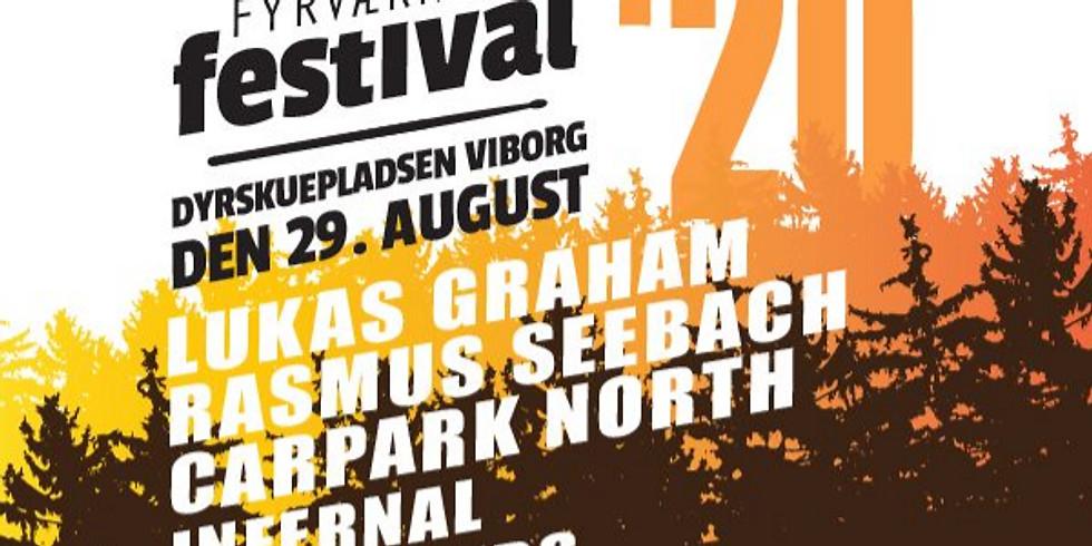 🎵 Bus billet til FYRVÆRKERI FESTIVAL i Viborg 🎵
