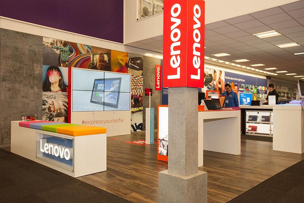 Stand da Lenovo