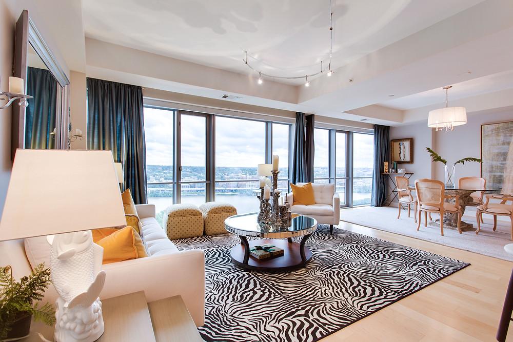 Modern Upscale Urban Condo Real Estate Photography