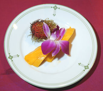Thai Cooking Früchte-Dessert